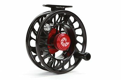 Nautilus CCF-X2 Fly Reel, Color Black, Size 10/12, NEW