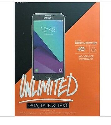J3 EMERGE Lot of 10 Boost Mobile