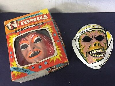 "Collegeville Halloween Costume Mask ""Witchiepoo"" HR Pufnstuf Plus Mummy"