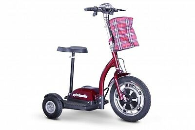 EW-18 STAND-N-RIDE Mobility Scooter, Goes 15mph, 20 mile range & 300lb Capacity