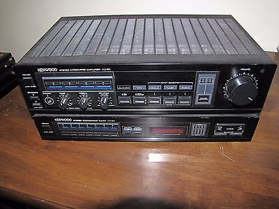 Kenwood Stereo Intergrated Amplifier KA-54 and Tuner KT-54