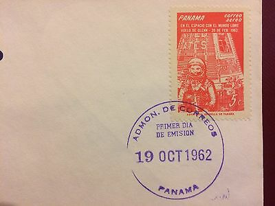 SELDOM SEEN SPACE COVER : Glen - Panama FDC 1962