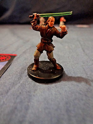 Star Wars Miniatures Game Figure with card Universe Weapon Master 28/60 2006