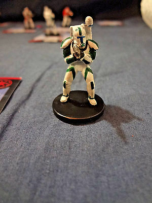 Star Wars Miniatures Game Figure with card Universe Commando Fixer 34/60 2006