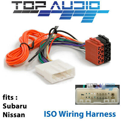 Nissan Subaru ISO WIRING HARNESS stereo radio lead wire loom connector APP091