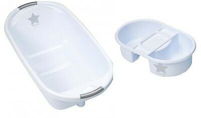 Strata Deluxe Baby Bath And Top N Toe Set (Silver Lining Little Star)