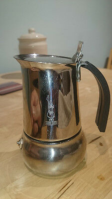 Bialetti  Kitty  Stainless  Steel 2 Cup