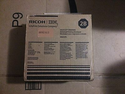 Ricoh / IBM InfoPrint 3900/4000 69G7379 Developer Carton (Box/2) Genuine New
