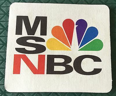EXC. ORIG 1996 MSNBC NETWORK LAUNCH PROMO 8x7 MOUSEPAD COLLECTOR'S ITEM