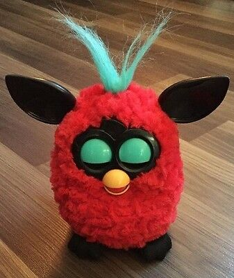 Red Black Cherry Furby Mind Of It's Own 2012 Use With Downloadable Ap Works