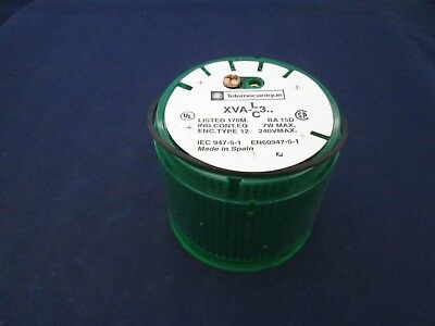 Telemecanique XVAC331 Green Stack Light Cover new