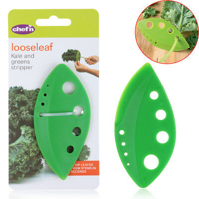 Hot Kitchen Product Looseleaf Leafy Kale Herb and Collard Greens Stripper Green