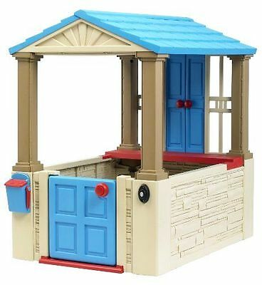 My First Playhouse Kids American Plastic Toy Child Playground Outdoor Play Set