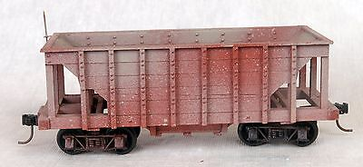 On3 Hopper Weathered Wood Assembled from Kit Brand Unknown