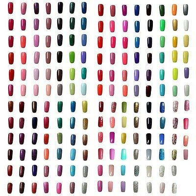 Esmalte De Uñas Soak-Off UV Gel Manicura Pedicura Top Base Coat Permanente Nail