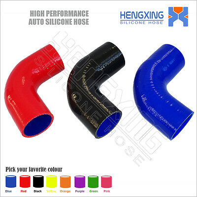 90 Degree Elbow Silicone Radiator Hose1.5'' 2'' 2.25'' 2.5'' 3'' 3.25''3.5'' 4''