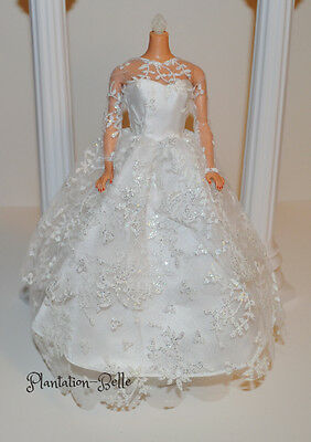 Barbie Reproduction ~ Vintage Repro White Wedding Day Dress