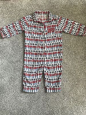 Cath Kidston Sleepsuit All In One Pyjamas 6-12 Months