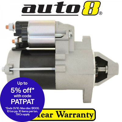 Starter Motor to fit Nissan 1200 B120 1.2L Petrol A12 1971 to 1985