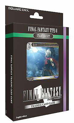 Final Fantasy Trading Card Game Starter Set Type 0 (single Unit)  - BRAND NEW