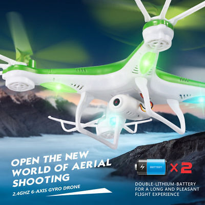 JJRC H97 Mini Drone RC Quadcopter 6Axis Helicopter Camera High/Low Radio Control