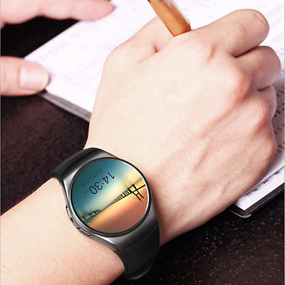 KW18 Bluetooth Smart Wrist Watch SIM GSM Phone Mate For Android Apple iPhone LG