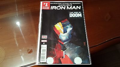 Infamous Iron Man #1 (2016 Marvel) Marvel Now 1st Print NM SOLD OUT