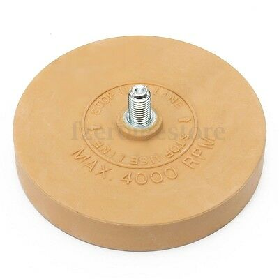 Heavy Duty Pinstripe Decal Eraser Wheel Pad Sticker Removal Tool 4000 RPM Max