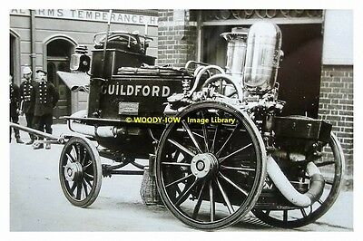 rp13730 - Guildford Fire Engine - photo 6x4