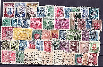 Lithuania Selection Of 50 Stamps,used