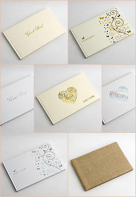 Wedding Guest Books - various designs Scrapbook Crafts