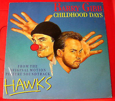 "Barry Gibb Childhood Days 12"" PC UK ORIG Polydor PZ 15 Hawks OST/Bee Gees VINYL"