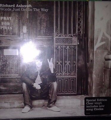 Richard Ashcroft – Words Just Get In The Way 45 rpm clear vinyl