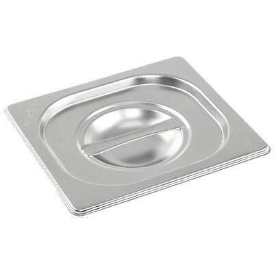 Vogue K993 Stainless Steel Gastronorm 1/6 Lid