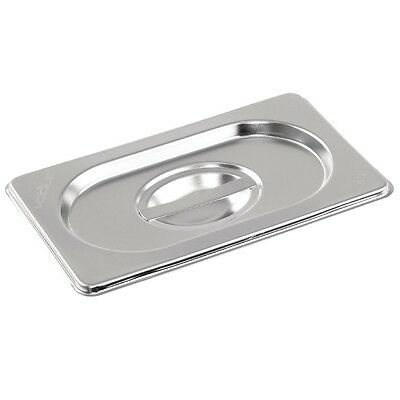 Vogue K997 Stainless Steel Gastronorm 1/9 Lid