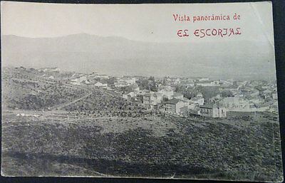 Antigua Postal Monasterio El Escorial Vista Panoramica Madrid Postcard   Cc04224