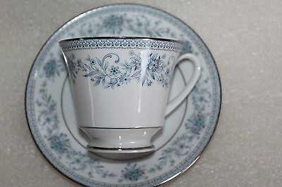Noritake Blue Hill Pattern Tea Cup & Saucer