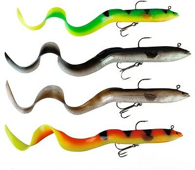 Savage Gear 3D Real Eel 20cm 38g Ready To Fish NEW Lure Fishing  *ALL COLOURS*