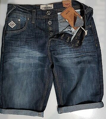 """Threadbare Chino Mid Wash Shorts In  Waists  32"""" Only £9.99"""