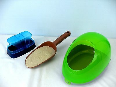 Trixie Sand Bath for Hamsters, Mice, Gerbils, Guinea Pigs, Chinchillas, Degus,