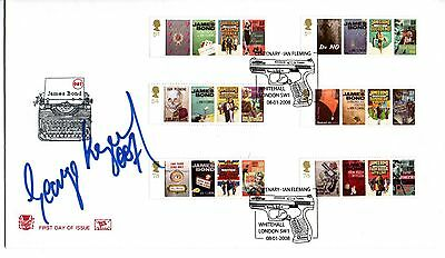 "George Lazenby ""James Bond"" 2008 FDC Signed with 007"