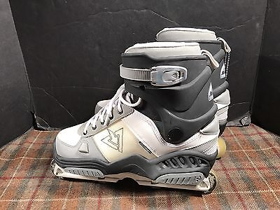 Rollerblade TRS Downtown Aggressive Inline Skates Mens Sz 11 Used Lightly