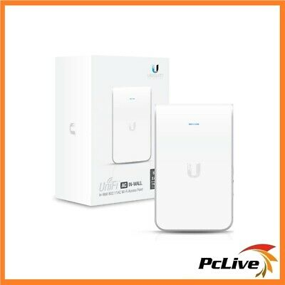 Ubiquiti UniFi In-Wall 802.11 AC Access Point Dual Band Wireless PoE+ UAP-AC-IW