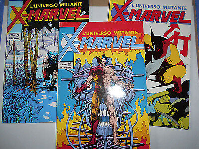 Wolverine Arma X Completo X-Marvel 22-23-24 Play Press 1992