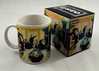 Officially Licensed Boxed Oasis Definitely Maybe Ceramic Mug. Liam Gallagher