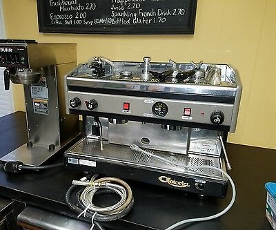 astoria automatic espresso cappicino latte machine with exteas used c.m.a. aep12