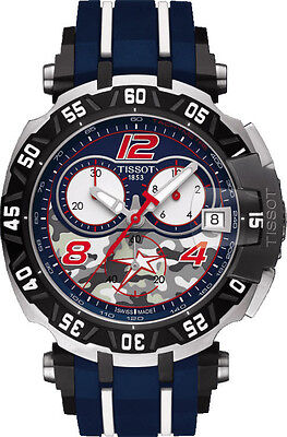 *BRAND NEW* Tissot Men's TRace Nicky Hayden LIMITED EDITION Watch T0924172705703