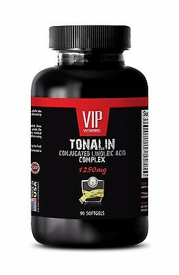 CLA Super - TONALIN COMPLEX- helps in building muscle - 1 Bottle, 90 Softgels