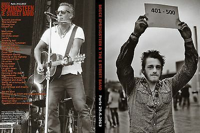 Bruce Springsteen. 2013. Paris. Stade De France. 2 Dvd.