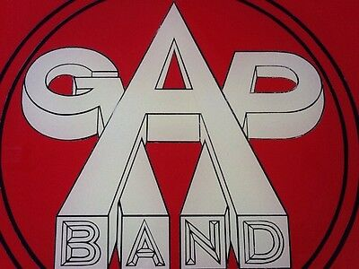 """""""GAP BAND"""" """"You Dropped The Bomb On Me!"""" 80's Vintage Man-Cave Hand-Made Sign!"""